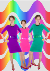 3 stretch dresses